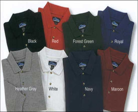 Polo Shirts 180 Gsm 1. 40 $FOB Pakistan