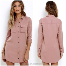 JH1641 alibaba ladies fashion modern shirt dress
