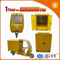 driving type 894 closed cabin cargo tricycle with great price