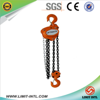 Liftmate CH612 Material Handling Manual Hoist 3000kg Lifting Equipment With Single Fall Overload Protection