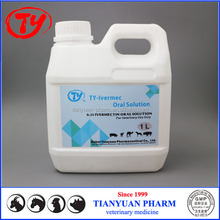 Veterinary medicine manufacturers supply 0.2% ivermectin oral solution