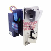 Factory special coin acceptor useful in motorcycle sidecar