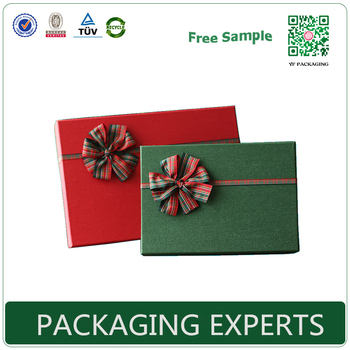 Christmas Gift Paper Box Fancy Design Pretty Decor gift packahing box