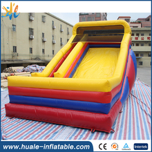 Outdoor giant slide commercail inflatable dry slide backyard slide for kids