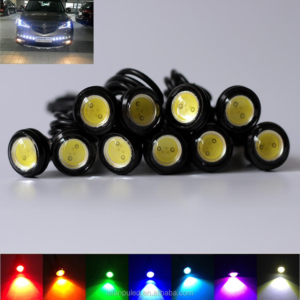 Wholesale 12v Auto LED Light Eagle Eyes High Power Car DRL LED Fog Light