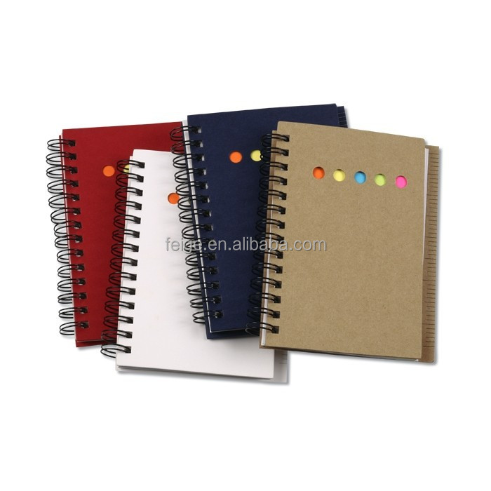 Mini Memo Book with Flags and Ruler