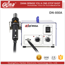 Daina Hot Air Soldering Gun Infrared BGA Soldering Rework Station DN 850A Heat Gun Machine SMD Rework Soldering gun