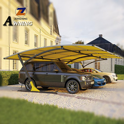 Eco-Friendly solar roof energy system car caravan awning for food packaging machine