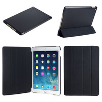 Three Folding Flip Stand Leather Tablet Case For Ipad pro