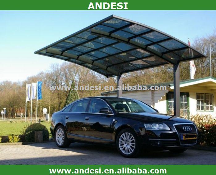 Alum Car Shelters : Car pergola carport aluminum sun shelter buy
