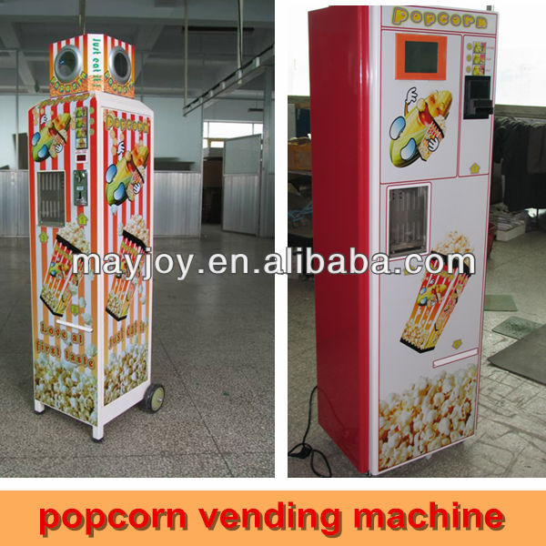2013 Hot selling automatic coin-operated popcorn vending machine for sale