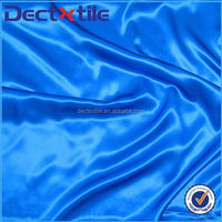 New Product Sky Blue Satin Textile Cloth Material Satin Fabric For Formal Dress