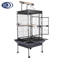 China supplier stainless steel large parrot breeding cage for wholesale
