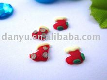 polymer clay craft for nail decoration