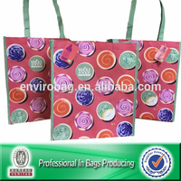 I USED TO BE A PLASTIC BOTTLE Reusable Bag 100% Recycled PET Fabric