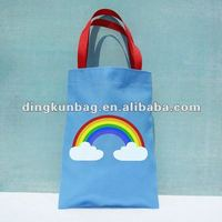 Rainbow Children Cotton Tote Bag for Gift