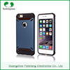 2015 unique pc tpu mobile phone case shockproof anti-Throw 2 in 1 combo Case for iPhone 6 plus with double windows