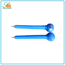 New product popular kids gifts smile face resin ball pen