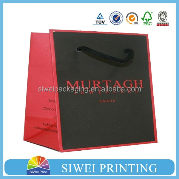 Luxury Customized Shopping Paper Bag&Paper Shopping Bag&recycle paper bag for packaging