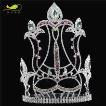 Pageant Rhinestone Tiara Hot Sale Crystal Crown