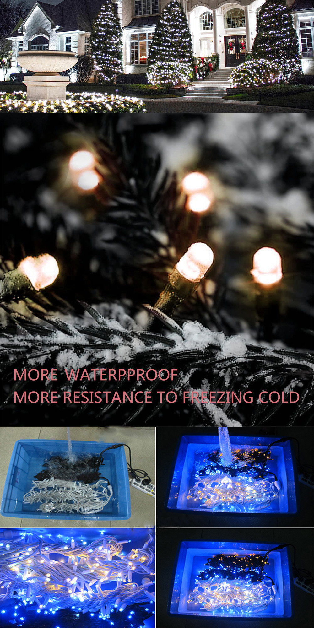 CE,ROHS Christmas light Outdoor IP65 Waterproof Led String Light