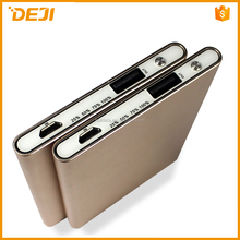 NEW 2015 fashionable and golden 3000mah portable power bank for cell phone, laptop