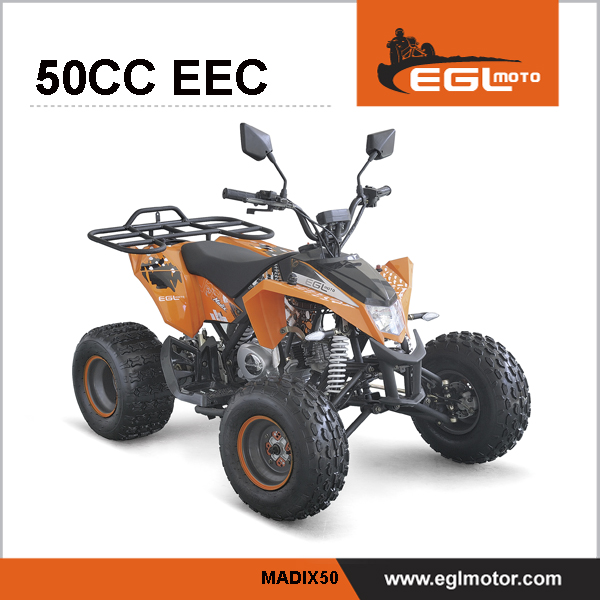 Semi-auto 50cc ATV Quad With Reverse engine from Zongshen