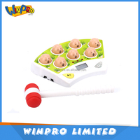 High quality plastic electronic game mini fight rats child toy