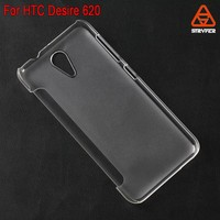 For HTC Desire 620 Plastic flip cover mobile phone leather case wholesale best price supplier
