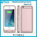 3100mAh Ultra Slim MFi Certified Smartphone Case Battey Pack Cover for iPhone 6 6s