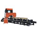 BEST!!! Full automatic wood sawmill mahine