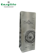 high-end aluminum stand up bags/500g coffee special packing pouch
