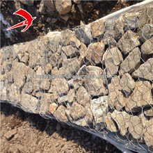 Leading factory gabion basket sizes / gabion retaining wall / flood defence wall gabion box