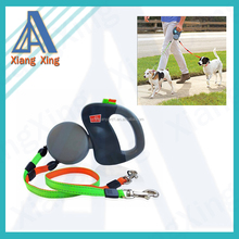 China Supplier 2 dog retractable leash for Puppy Walking