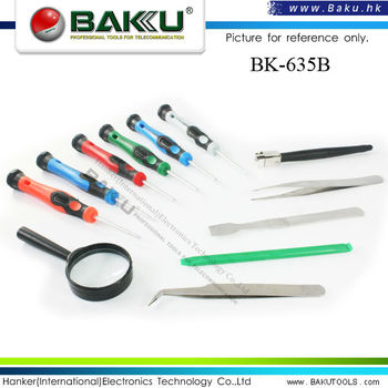 BK-635-B Best Series mobile phone repairing precision screwdriver Set