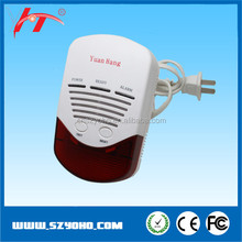 Hot selling CO gas detector, battery operated carbon monoxide sensor with low price