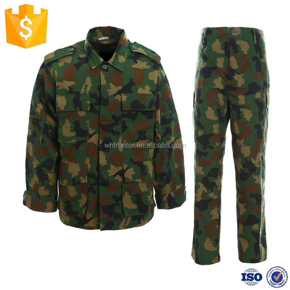 Clothing US Military Camouflage Combat Uniform Set