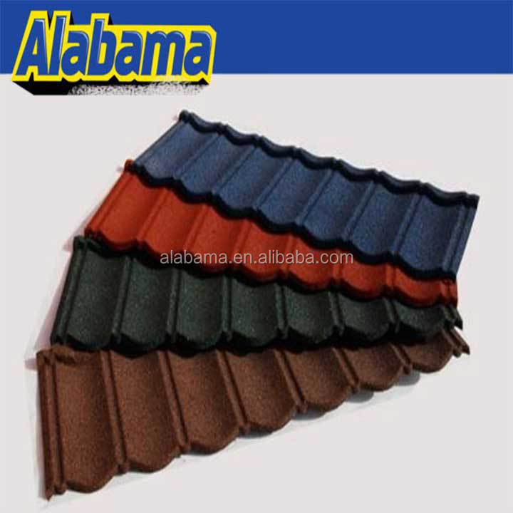Best quality with attractive price cheap price sand coated metal roofing tiles, ecological roof tile, resin tile