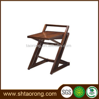 Factory direct living room rustic wooden folding side table
