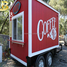 20ft sandwich panel vacuum smart shipping folding container coffee shop