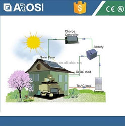 2016 New design 2kw home solar lighting system solar power motorcycle