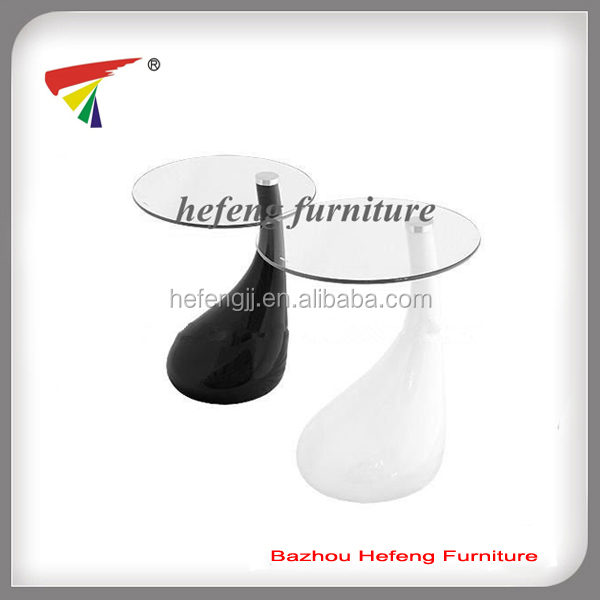 New Contemporary High Gloss Glass Coffee / Side Table