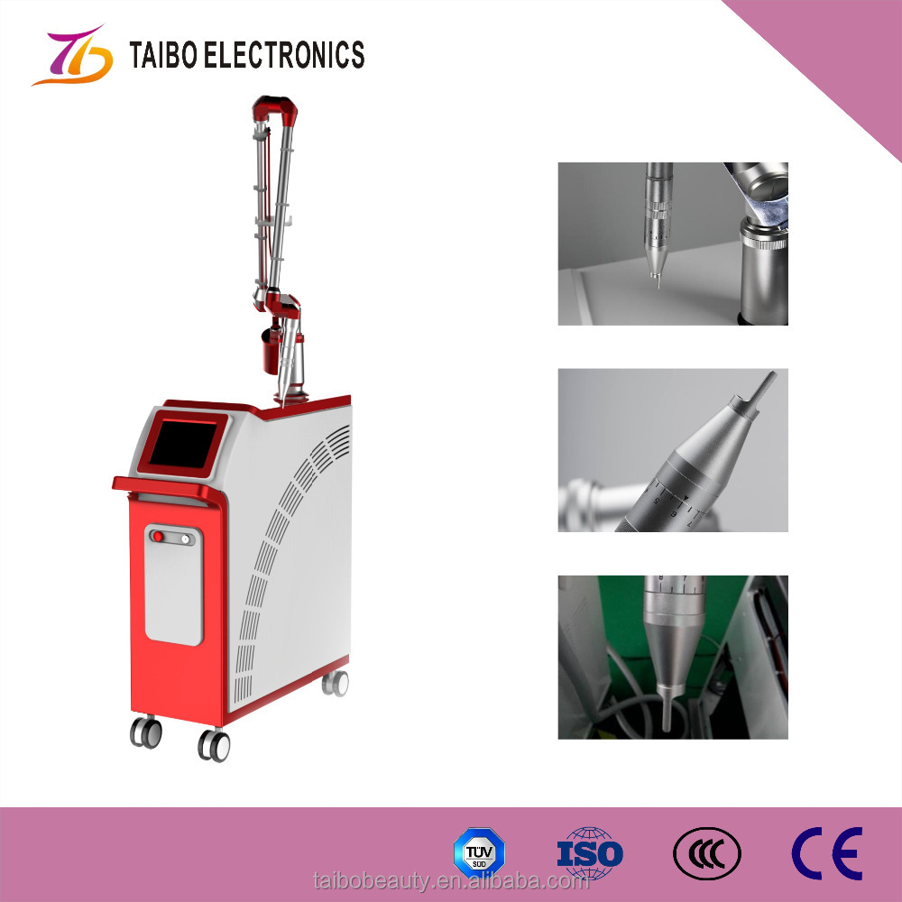 Q Switched ND YAG laser tattoo machine / permanent fake eyebrow removal / yag laser tattoo blackhead removal