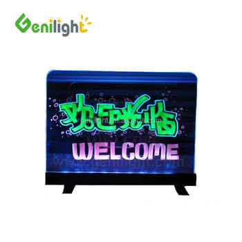 Message led board