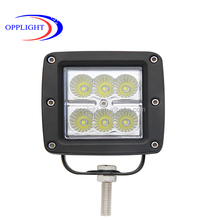 guangzhou photoelectricity truck led side flood light wholesales 18w led worklight for trucks tractor worklight