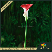Guangzhou wholesale cheap calla flower artificial fake PU flowers branches parts