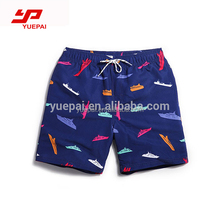 Wholesale custom sublimation printing swimwear quickly dry waterproof Beach Shorts for men