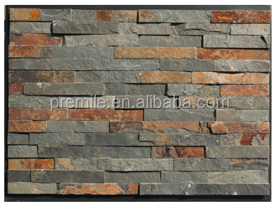 slate for home decoration wall cladding culture stone