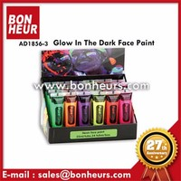 New Novelty Toy 6 Color Glow In The Dark Face Paint