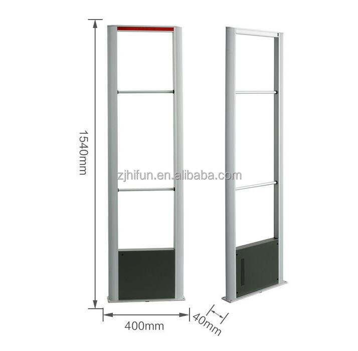 EAS system 8.2MHz Rf Shops Exit Alarm Security gate